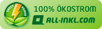 100% Ökostrom all-inkl.com